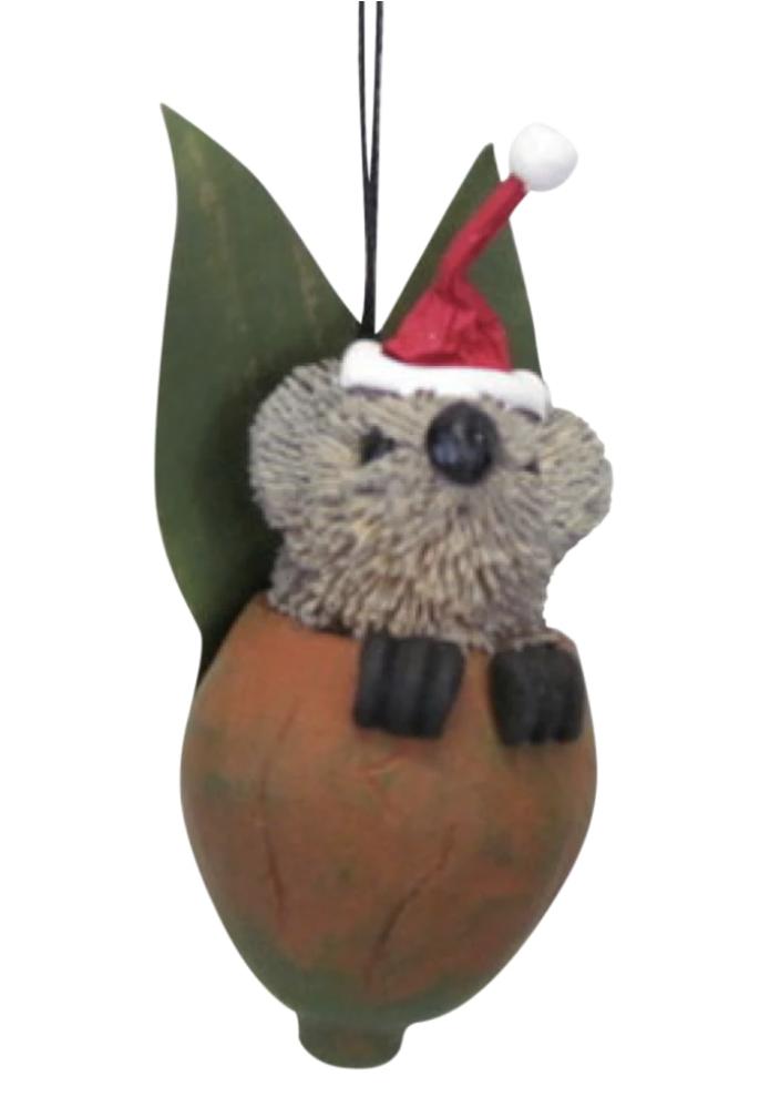 Koala Gum Nut Baby Ornament