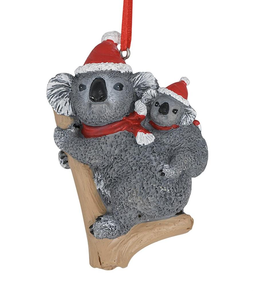 Koala & Joey Christmas Ornament